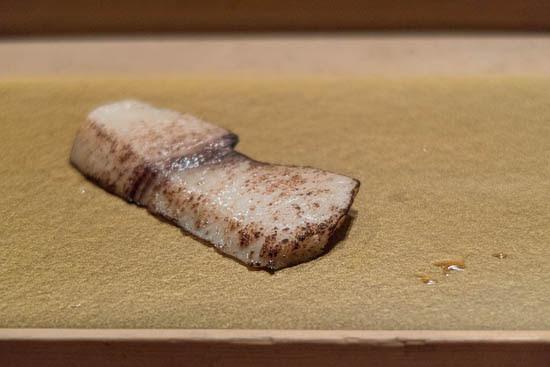 Mantenzushi Marunouchi Tokyo Seared Swordfish