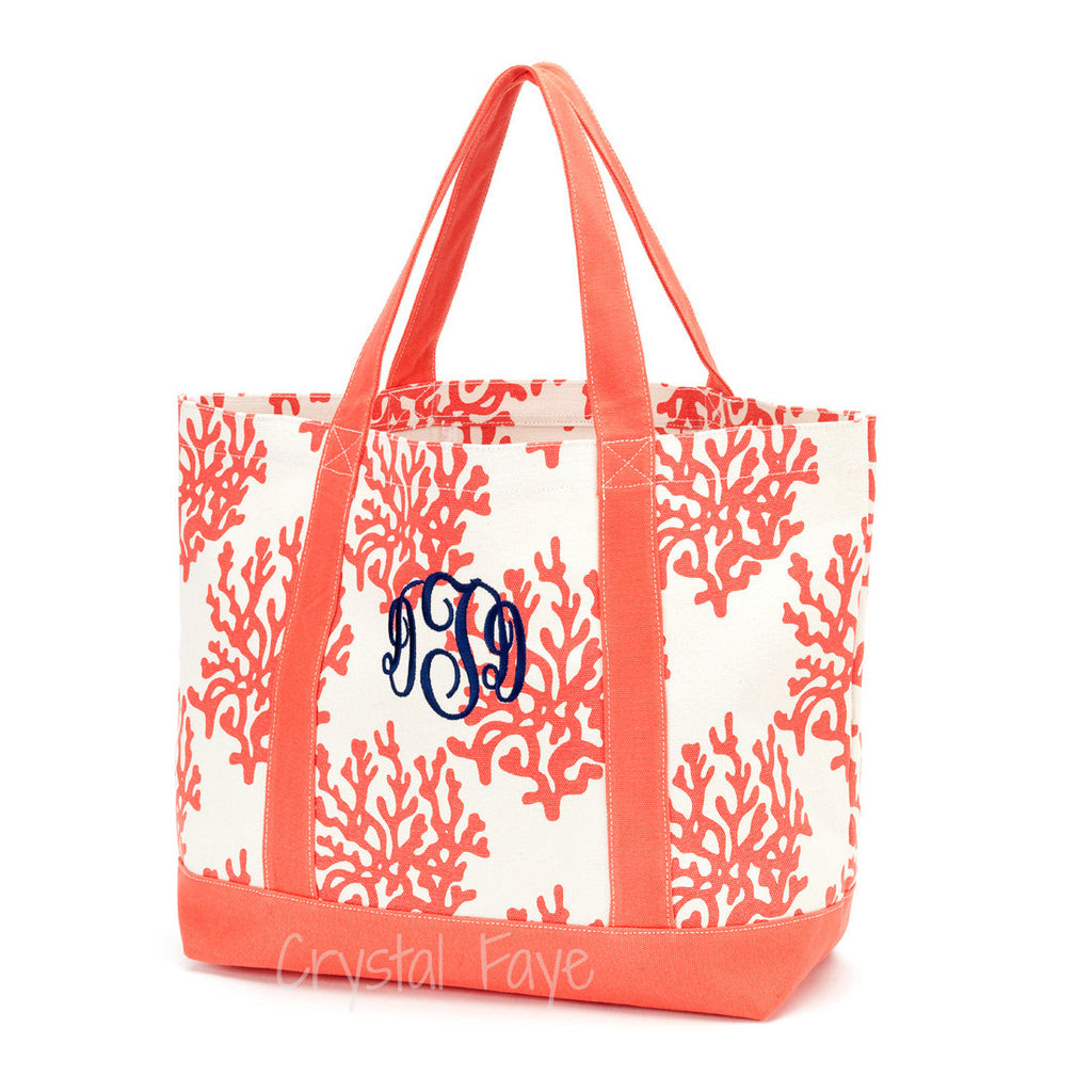 Canvas Bag- Coral