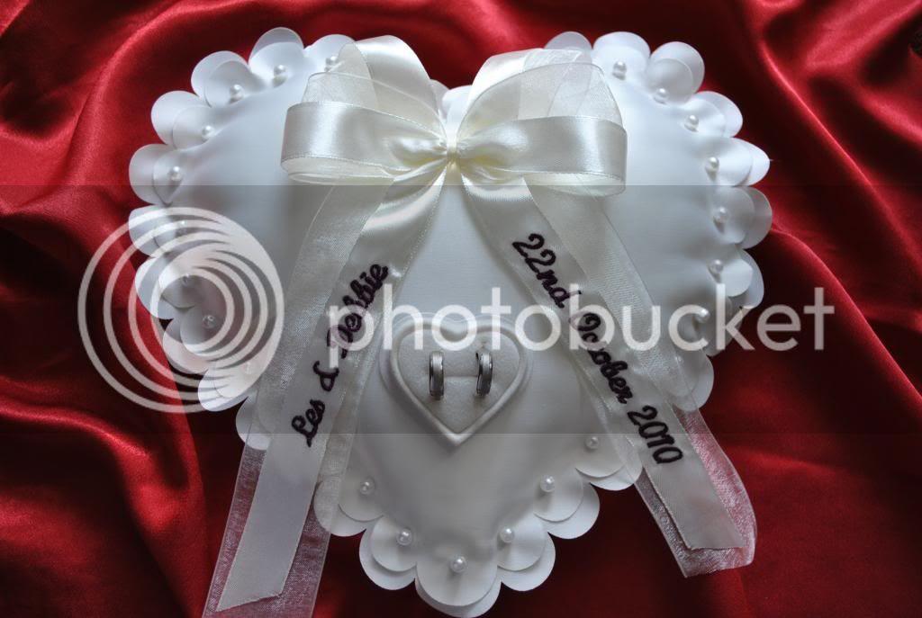 Unique wedding ring holders
