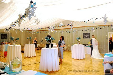 Wedding Ceiling Draping Tutorial   How to Measure and Hang
