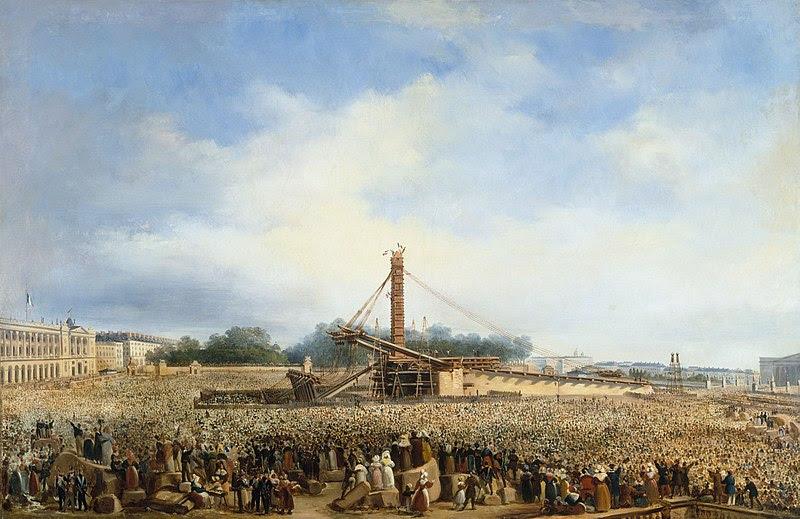 Ficheiro:Érection de l'obélisque de Louqsor sur la place de la Concorde.jpg