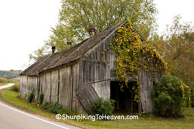 Abandoned Tobacco Barn, Vernon County, Wisconsin