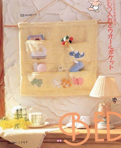 Baby organizer made from a towel