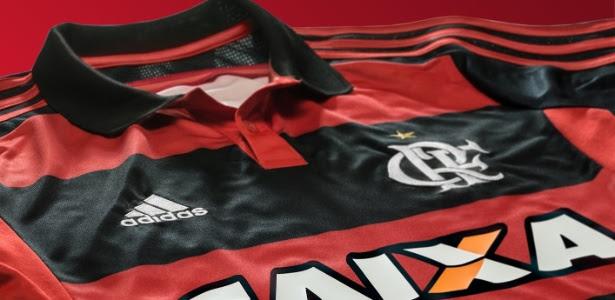 O Flamengo terá novo patrocinador. Marca ficará na barra da camisa e abaixo do número