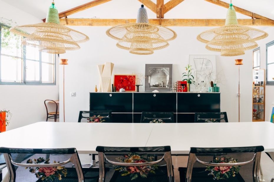 Phòng ăn ấn tượng