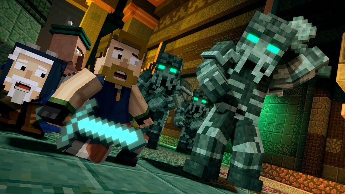 Minecraft: Story Mode Season 2 gets fun launch trailer screenshot
