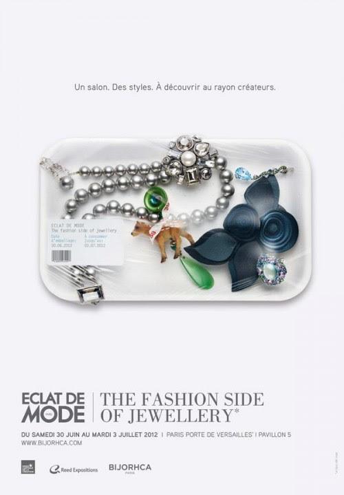 salon du bijou porte de Versailles Eclat de mode Bijorhca  Affiche Eclat de mode juin 2012 2 500x720 photo  Bientôt le salon du bijou 2012!