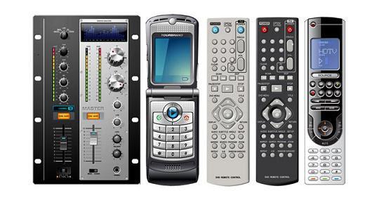 vector-remote-controls