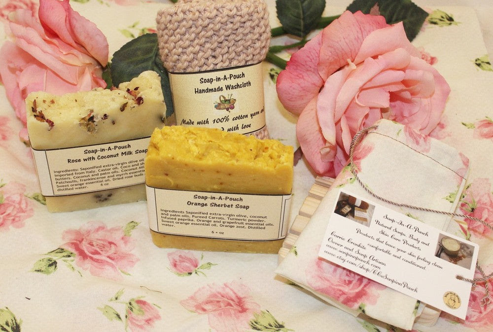 Handmade Soap Gift Setsoap Gift Setnatural Bath Gift Set