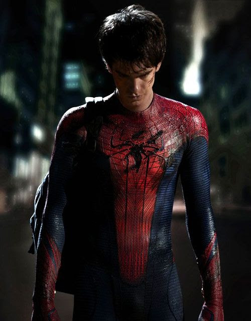 Andrew Garfield as Peter Parker/Spidey in THE AMAZING SPIDER-MAN.