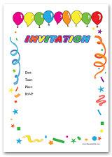 Free Printable Invitations and Invitation Templates at free ...
