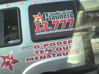 candidatos malucos 2012 menstruar 413x310 candidatos malucos 2012 menstruar