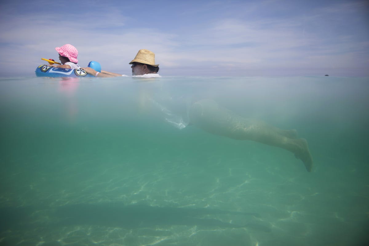 The beaches of Varadero have beautifully clear waters.