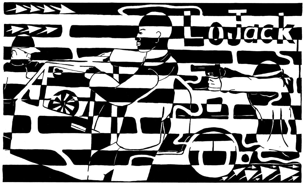car jacking maze