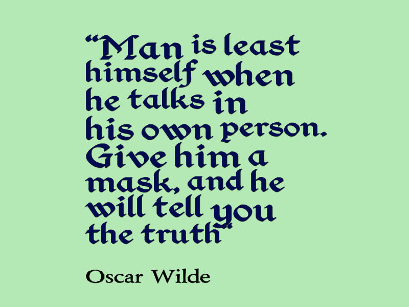 Oscar Wilde Quote About Truth And Lies Awesome Quotes About Life