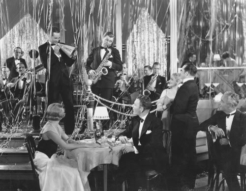 My dream New Years Eve would be just like this photo.  A big band concert in some swanky club…