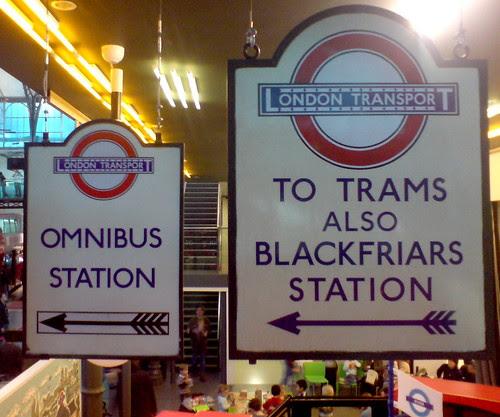 signs by Martin Deutsch taken at the LT Museum Flickr Minimeet