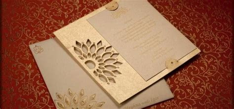 Brief intro on various types of Indian wedding invitation