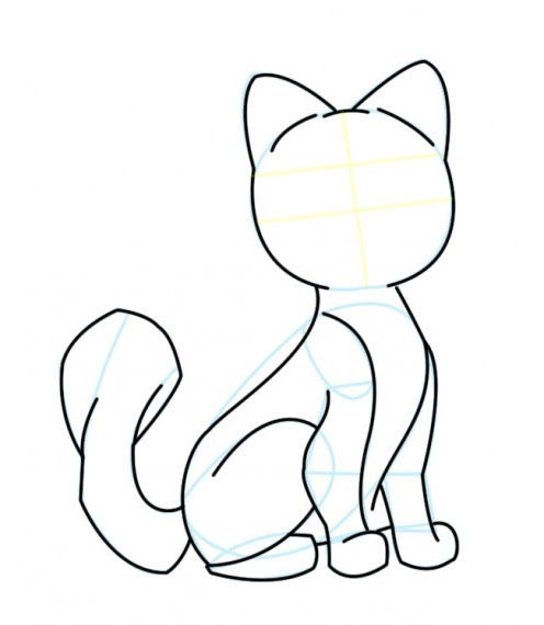 Free Cartoon Cat Drawings Download Free Clip Art Free Clip Art On Clipart Library