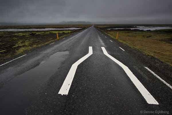 one-lane bridge along Iceland's Ring Road