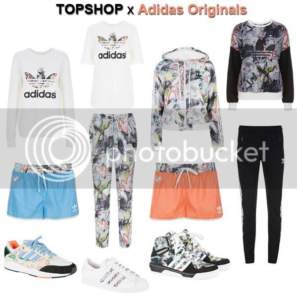 Topshop for Adidas Originals collection March 20, 2014