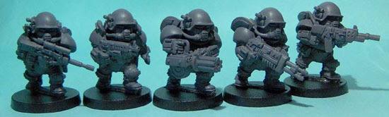 olleys armies, scrunt tactical assault troops