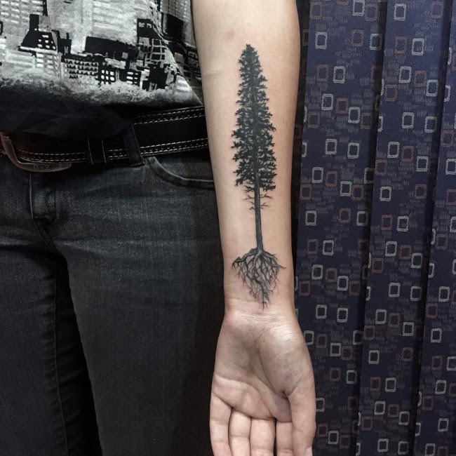 85 Best Tree Tattoo Designs Meanings Family Inspired 2019