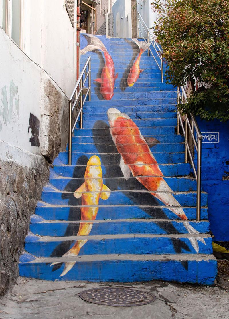 17 escadarias com as mais belas decorações urbanas do mundo 06