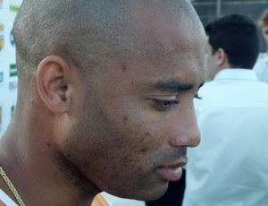 Cascata, meia do ABC (Foto: Bruno Araújo/GLOBOESPORTE.COM)