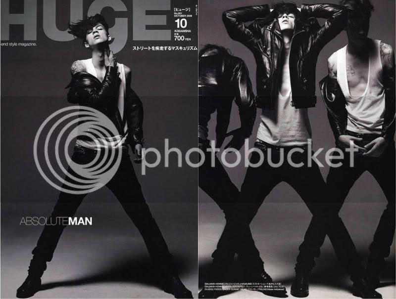 Huge Magazine October 2009 Balmain Homme @ Street Stylista