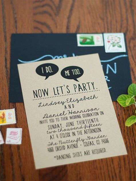 50  Best Wedding Invitations Online (PHOTOS)   CREATIVE