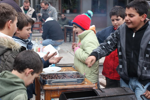 Children and Chestnuts