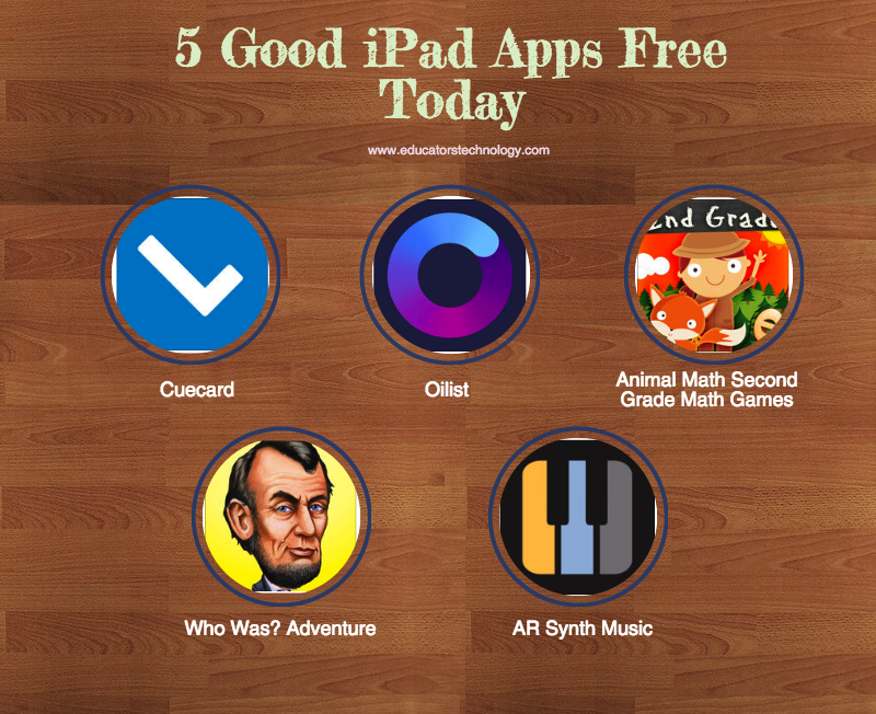 5 Good iPad Apps Free Today
