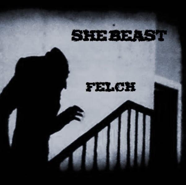 She Beast - Felch EP Cover