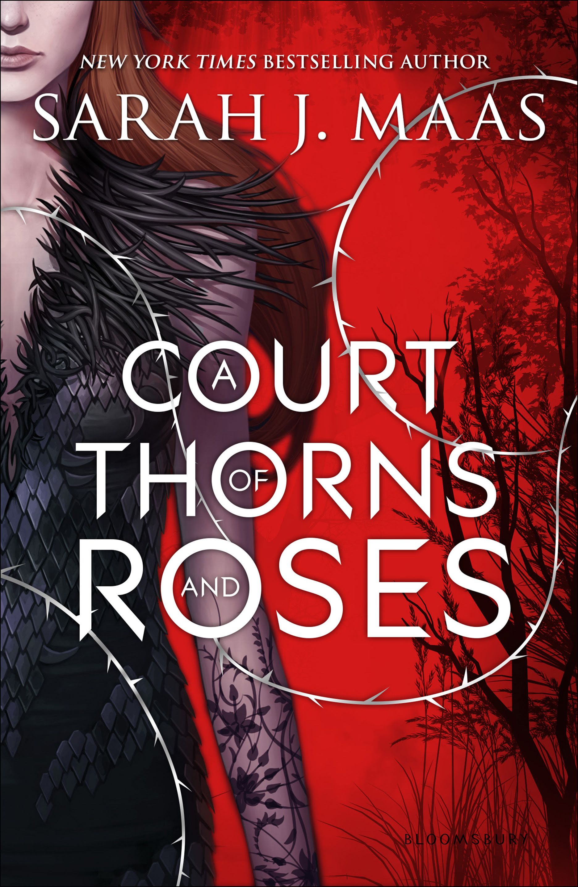 Risultati immagini per a court of thorns and roses
