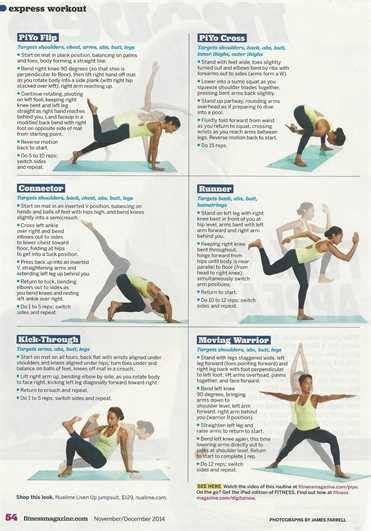 piyo exercise program fully engaged mom
