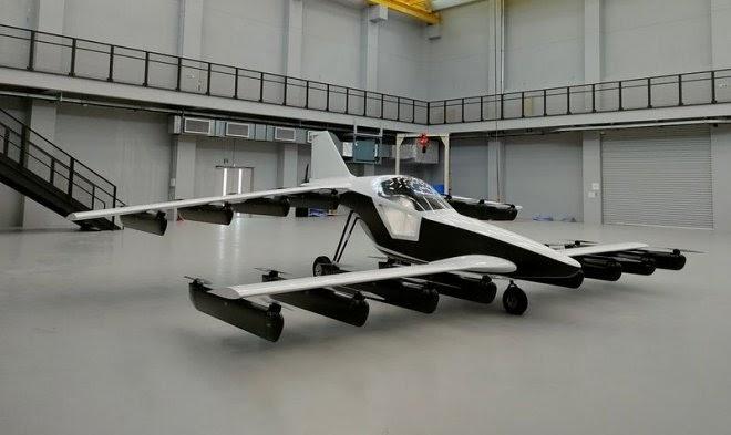 Tetra Aviation представила действующий персональный электролет Мк-5