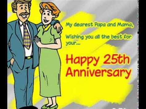 25th wedding Anniversary Ecards/Images   YouTube