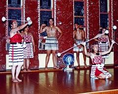 Maori Dance and Haka Rotorua 1991 New Zealand