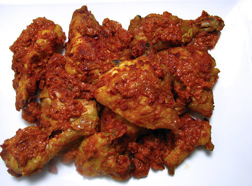 ayam masak merah recipe chicken in red sauce