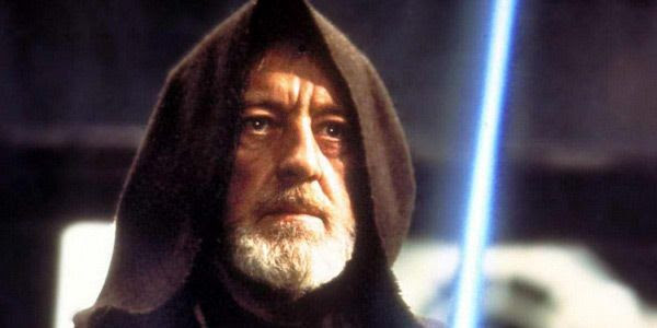 Obi-Wan Kenobi is ready to fight in STAR WARS: A NEW HOPE...just like how we need to be ready to fight if Donald Trump follows through on his dark pledges for America.