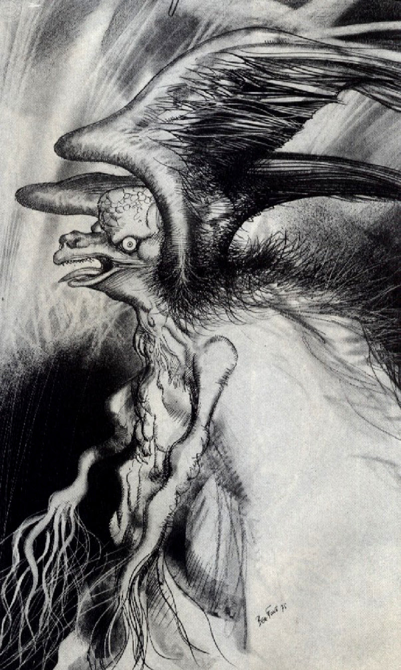 Josep M. Beá - Lovecraft Monster Gallery - 12