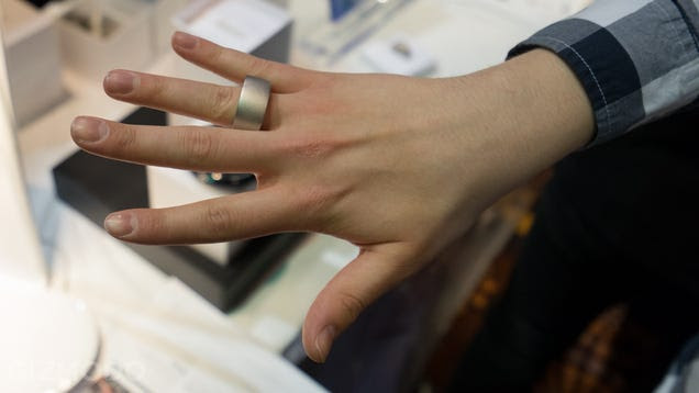 Up Close with Ring: Maybe Smart, Definitely Gigantic