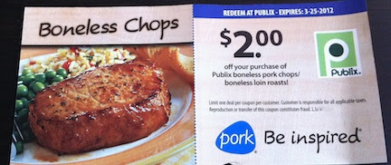 publix pork New Publix Pork Coupon    Be On The Lookout