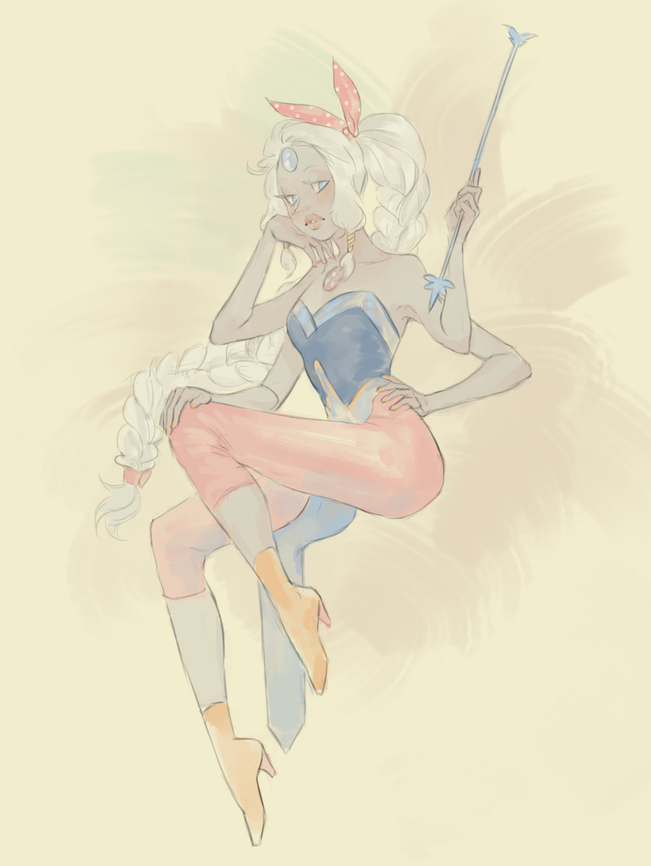 Some pin up crystal gems…