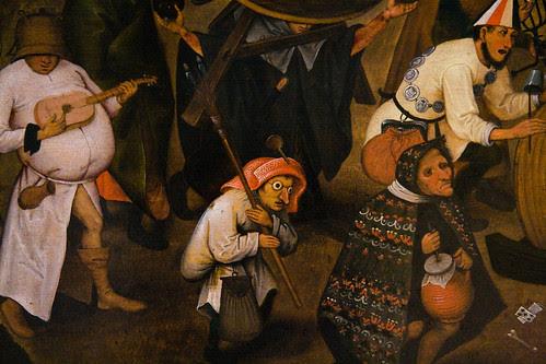Resultado de imagen de Bruegel. Combate de Cuaresma y Carnaval (1559)