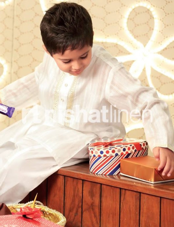 Nishat-Linen-New-Latest-Eid-Suits-Kids-Wear-Dresses-Collection-2013-1