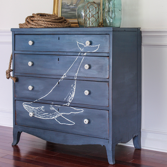 Shades of Blue Interiors | Whale Dresser