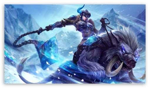 League Of Legends Sejuani 4K HD Desktop Wallpaper for 4K Ultra HD TV • Tablet • Smartphone
