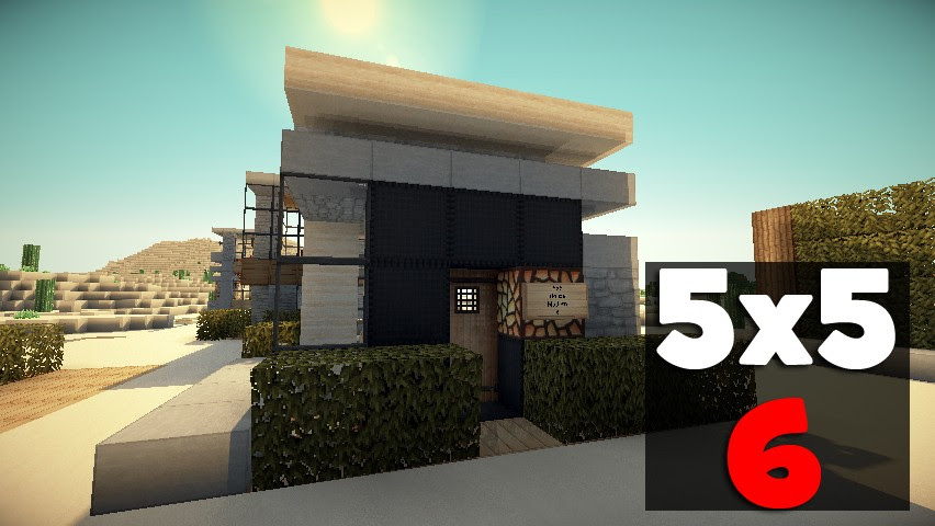 5x5 House 6! Minecraft Project